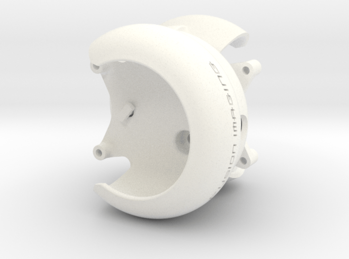 2x. DJI Phantom Prop Guard Connector (V4) 3d printed DJI Phantom Prop Guard Connector (V4)