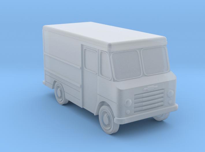 N-Scale 1960s Chevy Stepvan 3d printed