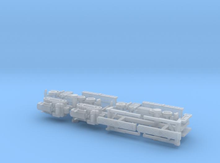 Faun 912/5050 Dumper with Dozer KHD 60 1/285  3d printed