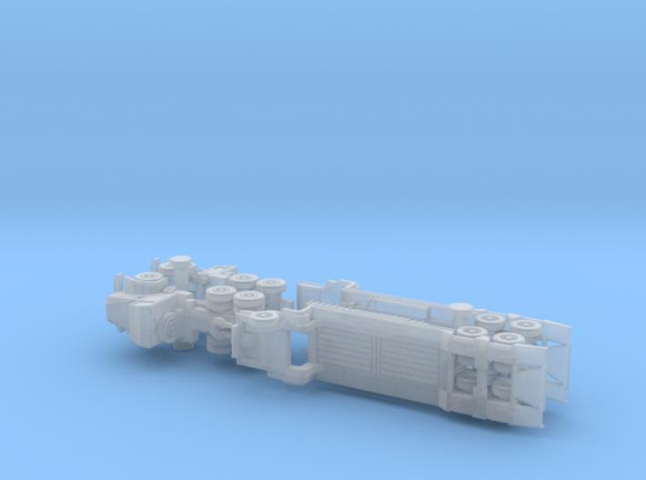 Faun 908 SA / SAT Tank Transporter 1/285 6mm 3d printed