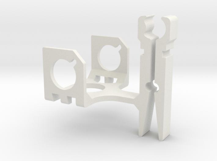 ZenClip - DJI Phantom 1 - Zenmuse H3-2D 3d printed