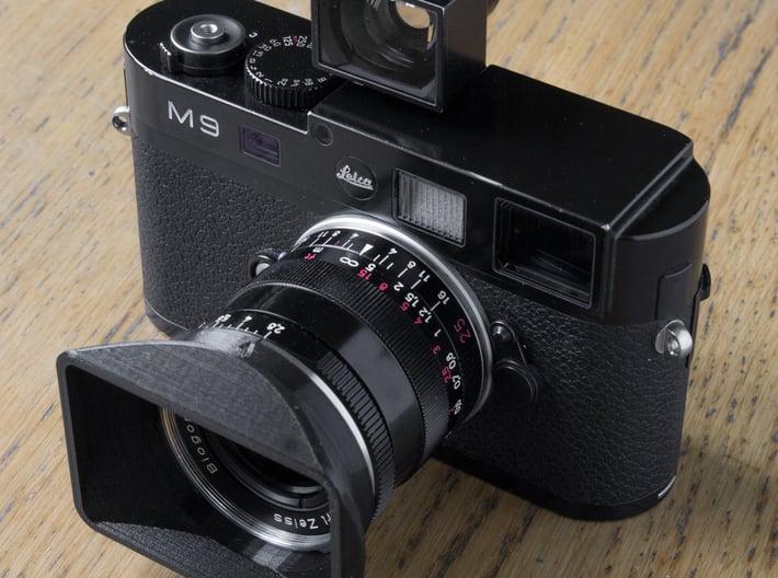Zeiss 25mm / 28mm Hood 3d printed FDM Test print