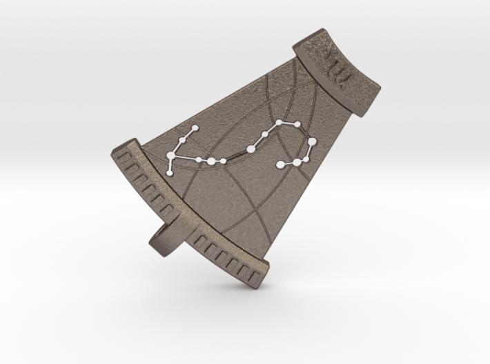 Scorpio Constellation Pendant 3d printed
