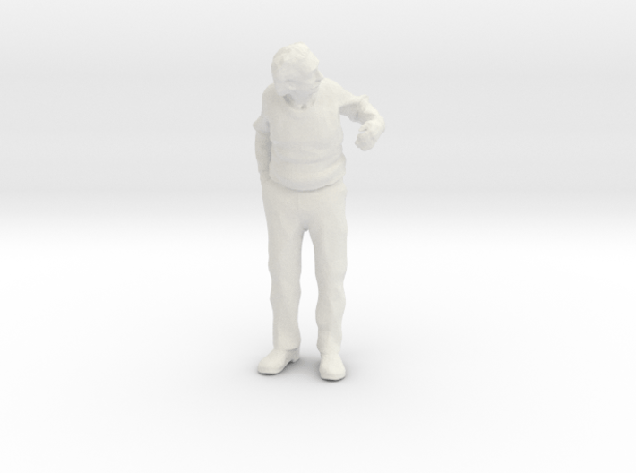 1:48 Scale Albert leaning out a door 3d printed