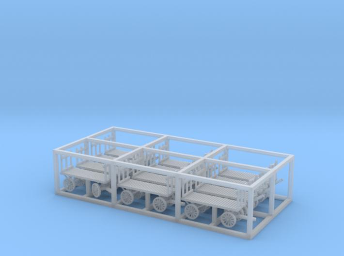 REA Carts x 12 3d printed