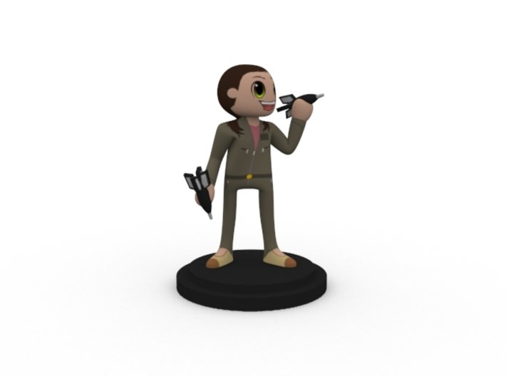 Job Hunters - Tiffany 3d printed