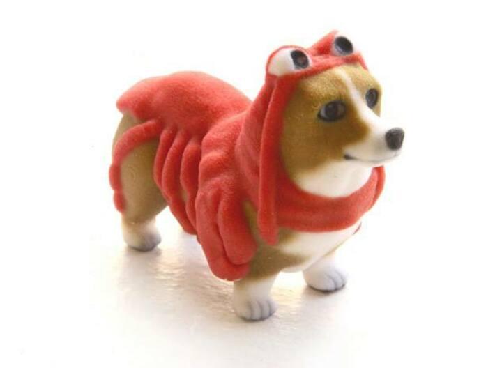 Lobster Corgi 3d printed