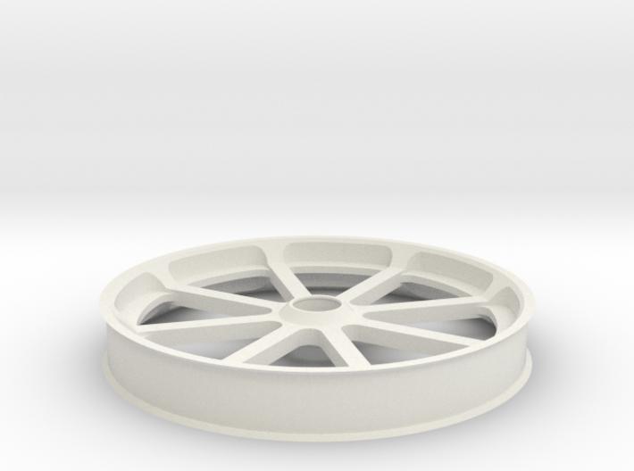 Smooth idler 100 mm, flanges 3d printed