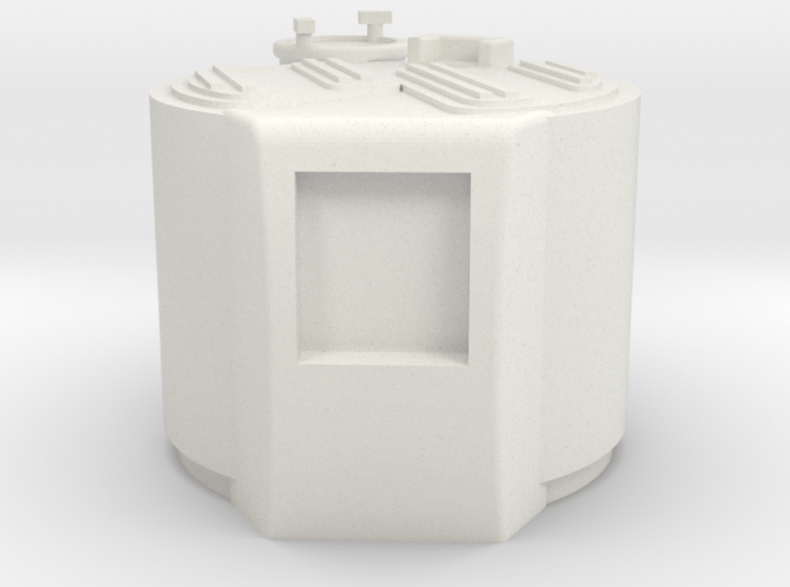 M03-engine Cover 3d printed