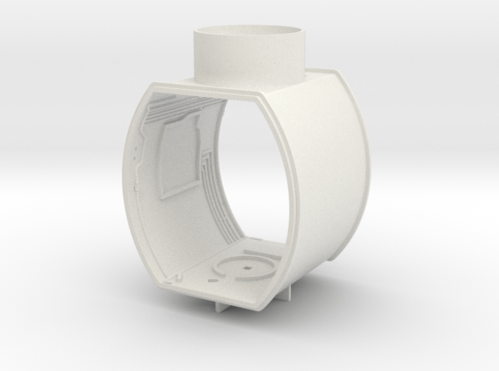 M01-mid Section Interior Structure 3d printed