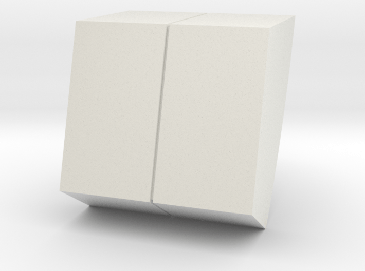 M10A-left wall detail 3d printed