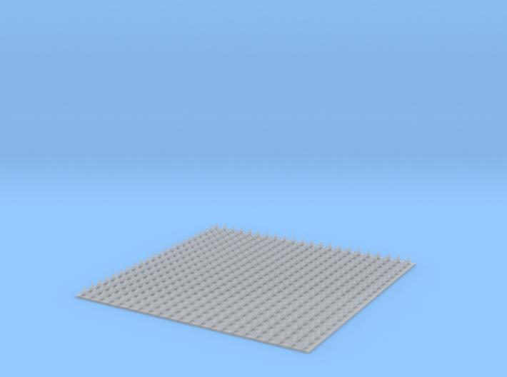 N Scale (1:160) Pigeons (Set of 484) 3d printed