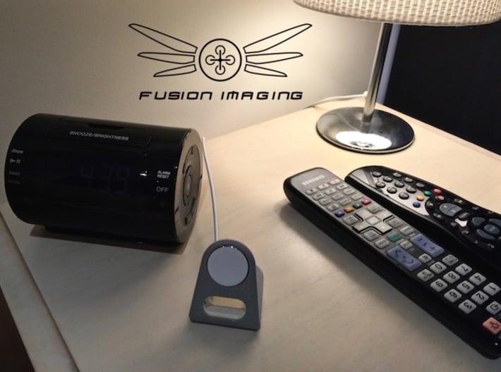 Apple Watch Charging Stand ''Loop' 3d printed Apple Watch Charging Stand ''Loop'(Metallic Plastic Pictured)