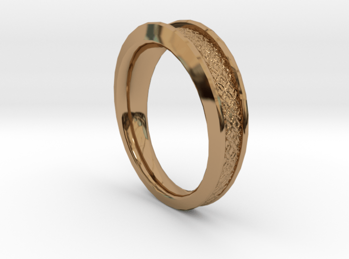 Detailed Ring 3d printed