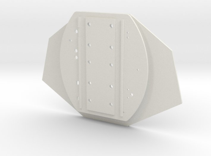 03-Connection Between Aft And Mid Sections 3d printed