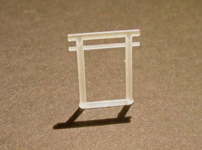 Torii, Kashima small 5x, N-gauge 3d printed