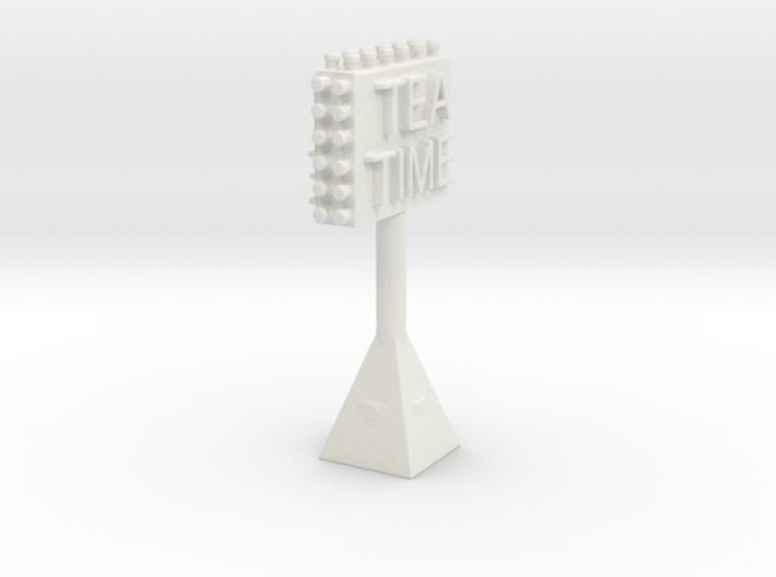 TEATIMESIGN 3d printed