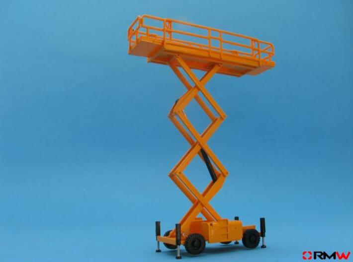 HO/1:87 Aerial working platform kit 3d printed Aerial working platform painted and assembled