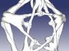 Pentaman pendant - Naked Geometry 3d printed