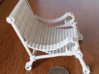 1:12 scale miniature industrial art chair 3d printed
