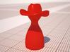 Cowboy Piece 3d printed
