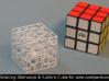 Snaking Stairways - Maze & Mathematical Sculpture 3d printed