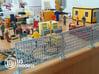 3X Pack 1:50 Bauzaun / Construction fence 3d printed