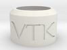 Vertek Single 'Smoke Ring Toy' by Adolist 3d printed