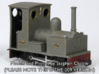 0-16.5 Bagnall 0-4-0 for Dapol Pug 3d printed Model and Photo by Stephen Clulow