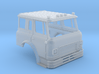 HO-Scale Cargostar Fire Truck Cab 3d printed