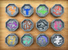 Chinese Zodiac Talismans 3d printed