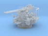 Twin Bofors 1/144 3d printed