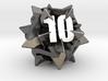 Icosatetrahedra d12 3d printed