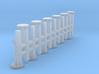 1/64 Air Seeder distribution towers  3d printed