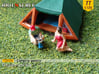 Camping guests and accessories - kit B (TT 1:120) 3d printed