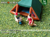 Camping guests and accessories - kit B (N 1:160) 3d printed