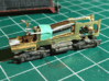 Z Scale Generic Motorized Frame 3d printed Rokuhan parts added. Additional fuel tank and truck side frames seen in photo are available in my shop.