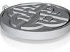Celtic Shield Pendant 3d printed