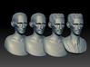 Nikola Tesla Bust Small 3d printed ZBrush Sculpting Process