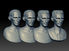 Nikola Tesla Bust Large 3d printed ZBrush Sculpting Process