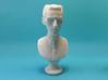 Nikola Tesla Bust Large 3d printed Macro Shot, Full