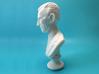 Nikola Tesla Bust Large 3d printed Macro Shot, Full Profile