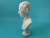 Nikola Tesla Bust Small 3d printed Macro Shot, Full Profile