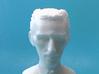 Nikola Tesla Bust Small 3d printed Macro Shot, Face Detail