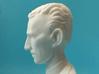 Nikola Tesla Bust Small 3d printed Macro Shot, Profile