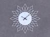 Sunburst Clock - Tasha 3d printed Render of clock face with hands added
