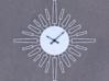 Sunburst Clock - Velma 3d printed Render of clock face with hands added
