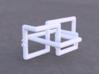 Cinqefoil Lattice Knot 3d printed Example render of knot printed in White Versitile Plastic