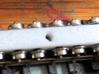 alvf Canon de 340 mm 1/160  free wheeling n gauge  3d printed bogie