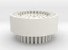 Finned Thick Walled Blade Plug 3d printed